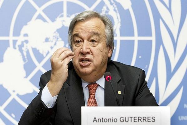 रोहिंग्या मुद्दे पर म्यांमार की स्टेट काउंसलर से मिले यूएन महासचिव