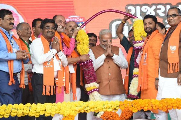 मोरबी में बोले मोदी, 100 साल तक भाजपा को नहीं हारना चाहिए गुजरात में चुनाव