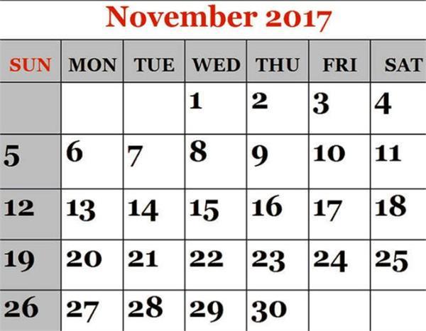 आज से नवंबर हुआ आरंभ, अपनी राशि से जानें शुभ-अशुभ समय