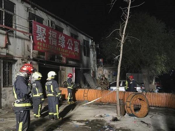 चीन में भीषण आग से 19 लोगों की मौत