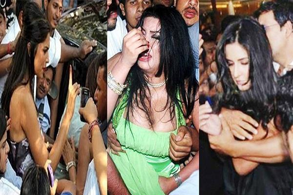 bollywood actresses who were harassed in public