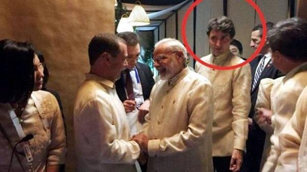 ASEAN Summit: डिनर पार्टी में मोदी से बचकर निकले कनाडाई PM, फोटो हुई वायरल