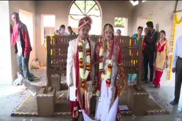 married in the cremation ground