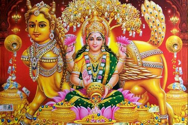 कल लक्ष्मी जी की इस दुर्लभ फोटो की करें पूजा, व्यापार में होगा लाभ
