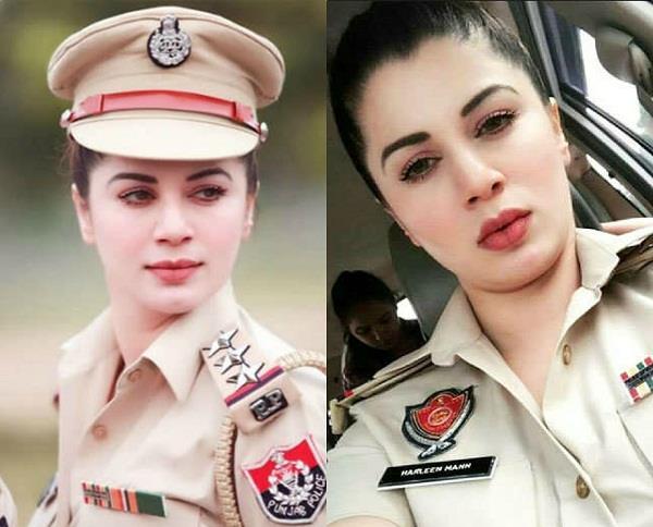 a beautiful panjab police kainaat arora picture viral