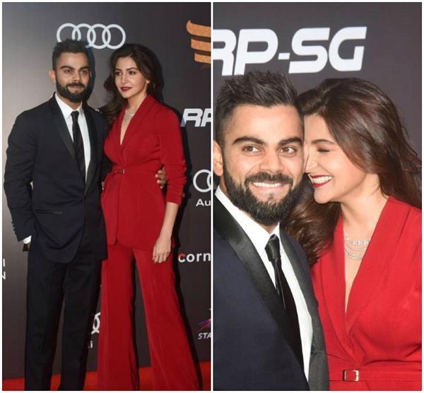 Sports Honour Awards: रेड कारपेट पर छाए रहे विराट-अनुष्का