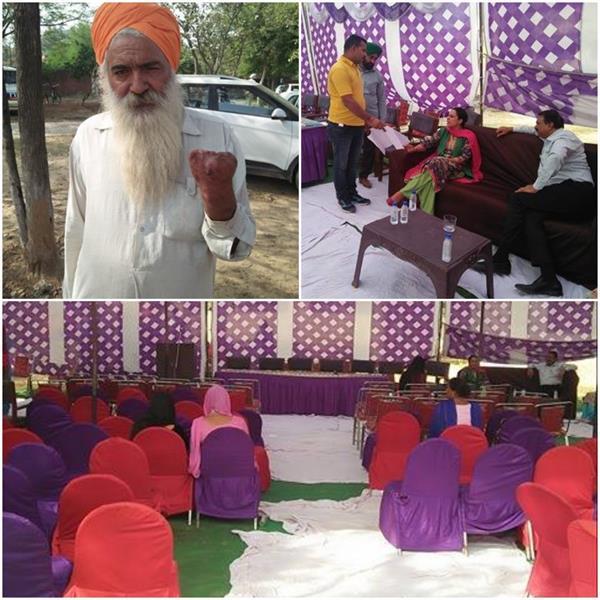 बूथगढ़ में लगाया जागरूकता कैंप, गांववासी बोले-कर्मचारी नहीं करते सुनवाई