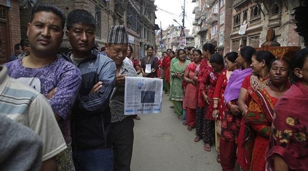 नेपाल में ऐतिहासिक चुनाव के लिए मतदान शुरू