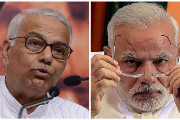 यशवंत सिन्हा ने तुगलक से की PM मोदी की तुलना