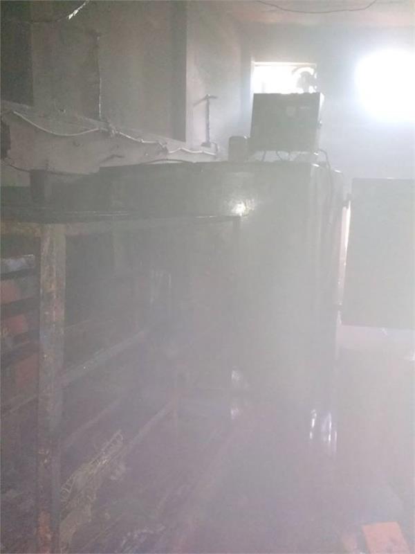 लुधियाना बिल्डिंग हादसे के बाद एक और फैैक्टरी में लगी आग