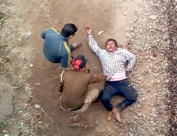 काम नहीं चला तो नेपाली युवक ने भंडारी पुल से लगाई छलांग