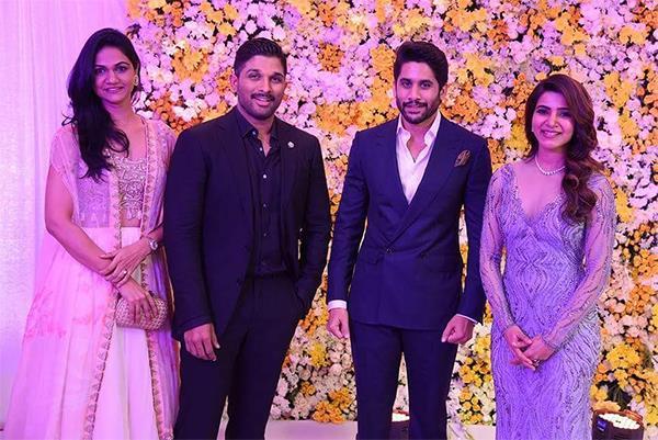 samantha ruth prabhu naga chaitanya wedding reception