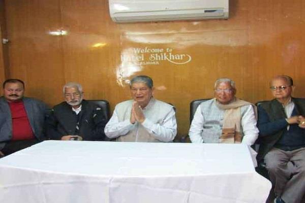नोटबंदी के फैसले से BJP ने प्रदेश को कर्ज में डुबो दियाः हरीश रावत