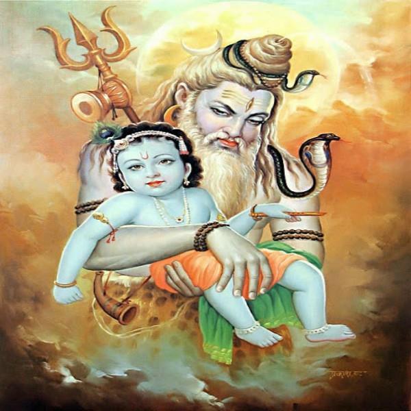 भगवान कृष्ण के दर्शन के लिए भोलेनाथ बने साधु, मांगी यशोदा मां से भिक्षा