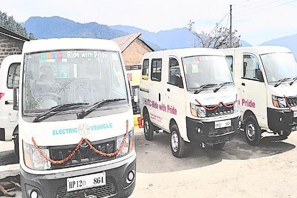 चुनाव आयोग इजाजत देता है तो प्रदेश में दौड़ेगी 50 सेवन सीटर इलेक्ट्रिक बसें