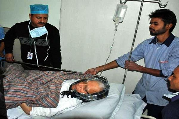 उत्तराखंड के पूर्व CM एनडी तिवारी की हालत गंभीर
