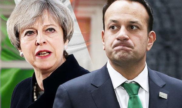 ब्रेग्जिट को लेकर ब्रिटेन-आयरलैंड में बढ़े मतभेद