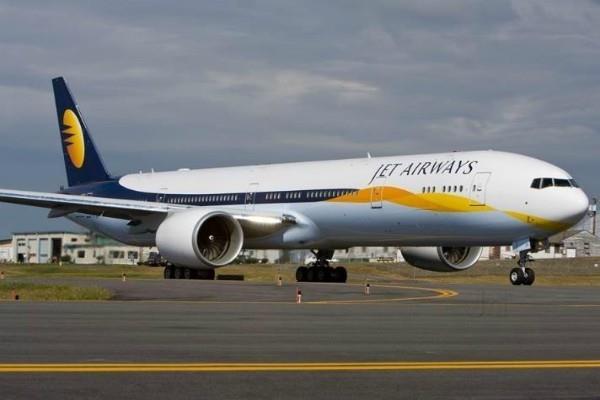 सुरक्षा कारणों से जेट के विमान को कोचीन में रोका