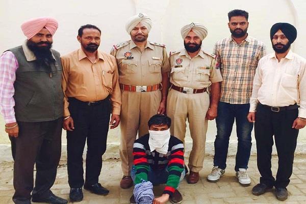 गुरुद्वारा साहिब से कैमरा चोरी करने वाला तीसरा भगौड़ा काबू