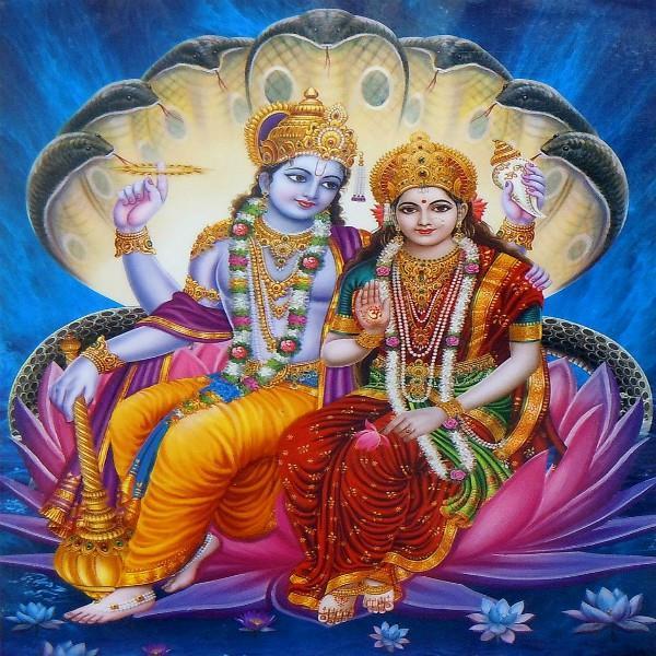 मां लक्ष्मी को एक गलती की भगवान विष्णु ने दी एेसी सजा