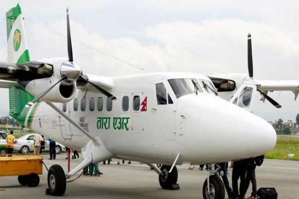 नेपाल में विमान का फटा टायर, पुलिसर्किमयों सहित 16 घायल