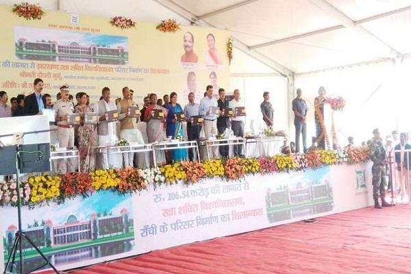 CM ने कहा- रक्षा शक्ति विश्वविद्यालय के निर्माण से बढ़ेगा राज्य में शिक्षा का स्तर