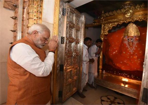 कच्छ के इस मंदिर में दर्शन कर मोदी ने चुनावी दौरे का किया श्रीगणेश