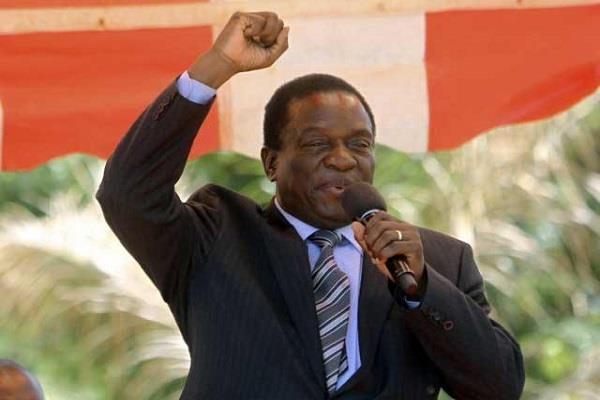 नांगगागवा ने ली जिम्बाव्बे के राष्ट्रपति पद की शपथ
