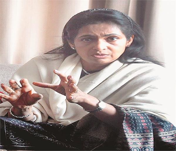 टिकट की दावेदार रही कविता खन्ना ने उपचुनाव की हार पर तोड़ी चुप्पी