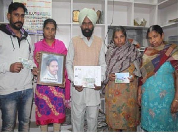 7 माह से इंसाफ के लिए भटक रहे हैं संदीप सिंह के परिजन