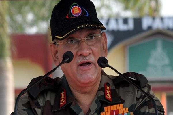 मौजूदा समय मे सतत युद्ध अभ्यास की जरूरत - थल सेना अध्यक्ष