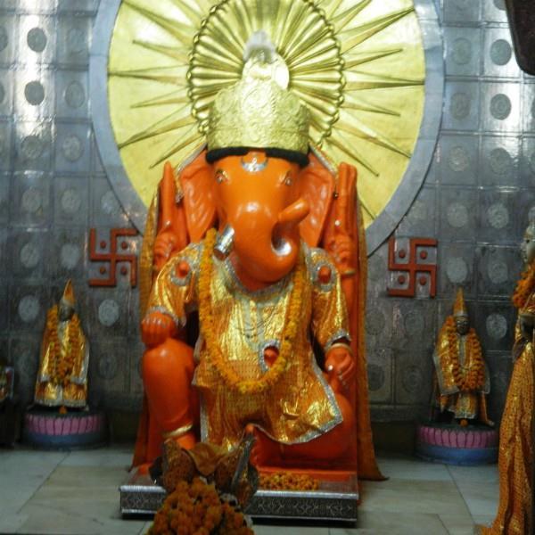 मोतीडूंगरी में विराजित भगवान गणेश की प्रतिमा है चमत्कारी
