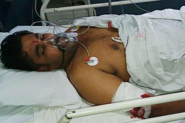 अपराधियों ने कांग्रेस नेता बलदेव सिंह को बनाया अपनी गोलियों का निशाना