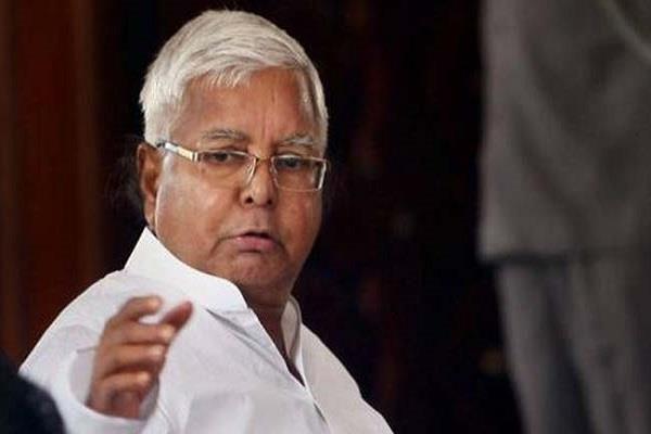 राजगीर का सम्मेलन रद्द करने का कारण बताए सरकार: लालू