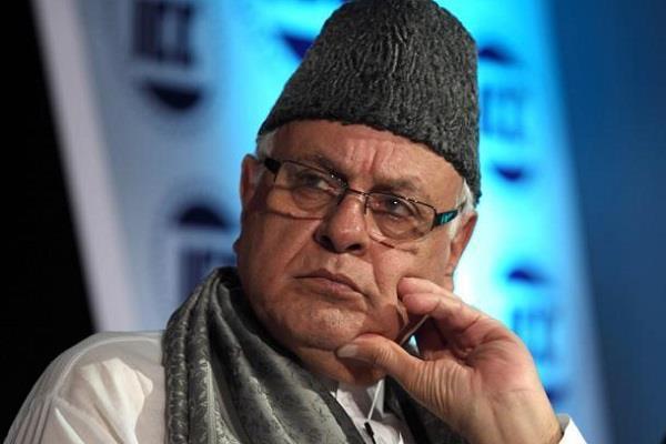 जम्मू कश्मीर के पूर्व सीएम फारूख अब्दुल्लाह पर देशद्रोह का चलेगा केस
