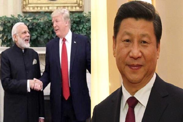 अमरीका-भारत के गठजोड़ से बौखलाया चीन