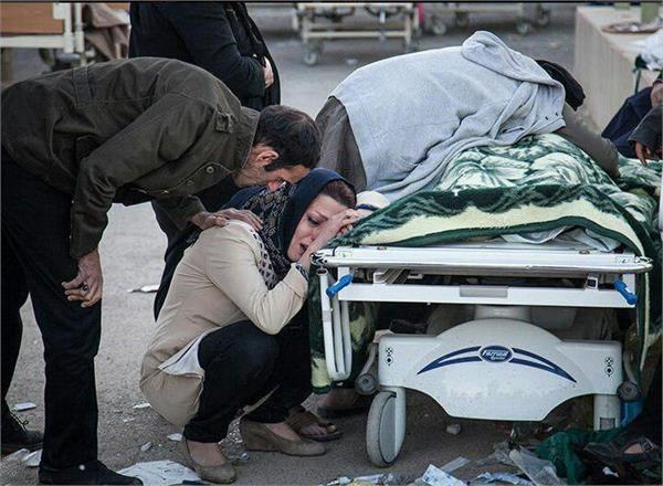 ईरान-इराक भूकंप से तबाही, 530 लोगों की मौत, 6,600 से ज्यादा घायल