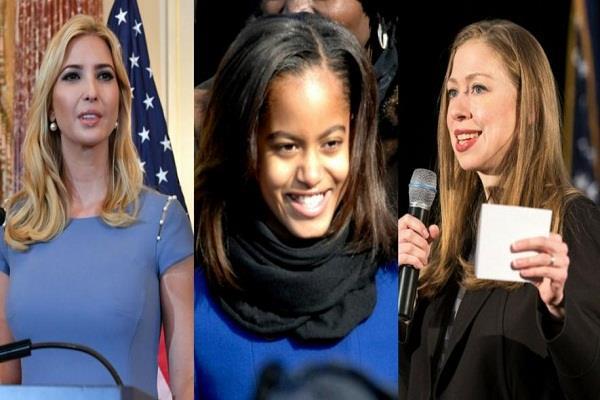 अमरीकाः पूर्व राष्ट्रपति की बेटी का स्मोकिंग करते वीडियो वायरल, बचाव में उतरी 'इवांक' और 'चेल्सी'
