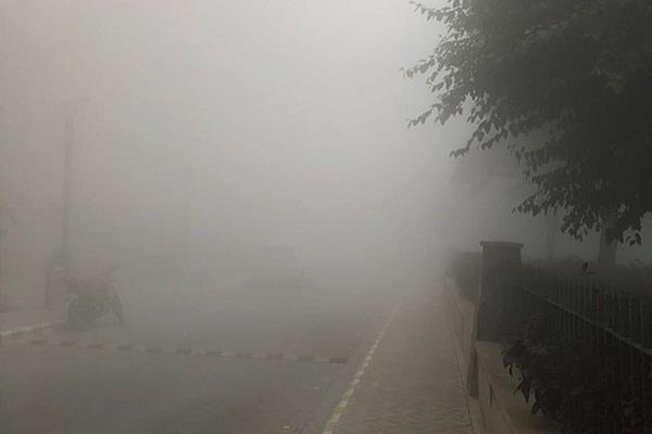 स्मॉग का धुंधलका, आसमान में छाए रहे बादल, जालंधर रहा प्रदेश में सबसे ठंडा