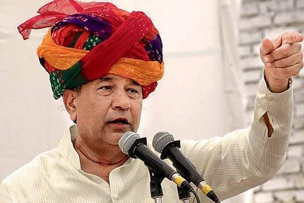 राजस्थान में बीजेपी को झटका, बागी घनश्याम तिवाड़ी बनाएंगे नई पार्टी