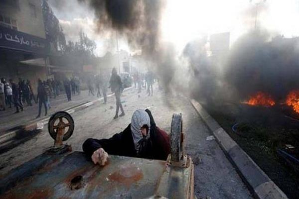 यरूशलम पर ट्रंप के फैसले का फलस्तीनियों ने किया विरोध, 16 घायल
