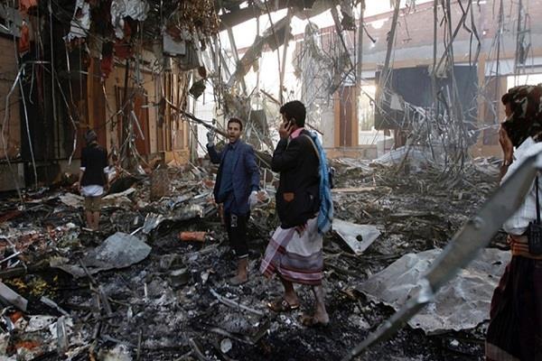यमन विद्रोही शिविर पर हवाई हमले में 26 की मौत : सुरक्षा सूत्र