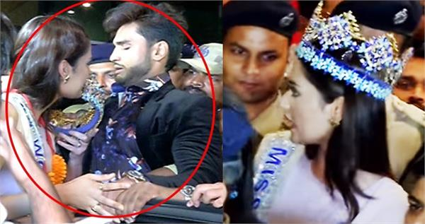 miss world manushi chiller harassed badly at airport