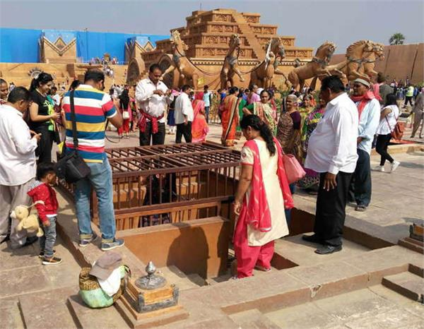 bahubali set demolished