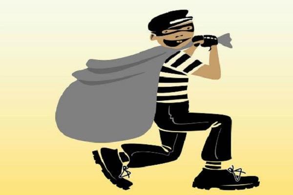 पड़ोसी की सूझबूझ से चोरी होने से बची, चोर हुए फरार