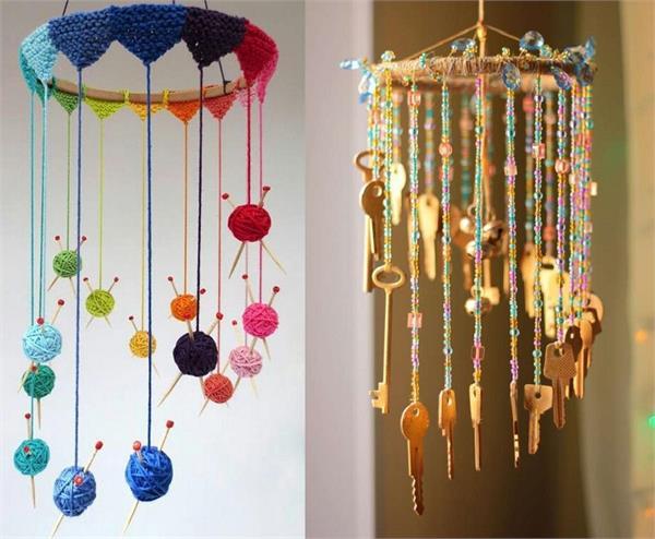 DIY Ideas: पुरानी और बेकार चीजों से खुद बनाएं डैकोरेटिव Wind Chime