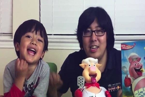 6 साल के बच्चे को Youtube ने बनाया 'करोड़पति'