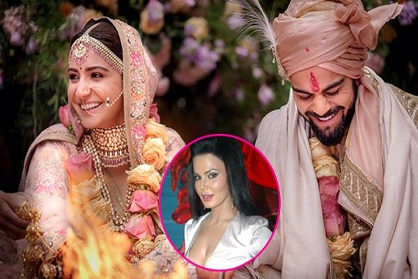 rakhi sawant wants to gift condom to virushka