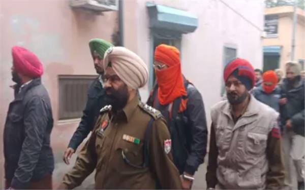 शार्प शूटर शेरा तथा रमनदीप 3 दिन के पुलिस रिमांड पर