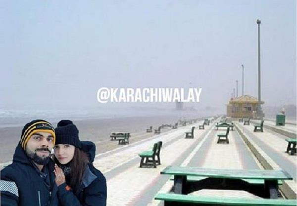 virat anushka honeymoon celebrates in lahore and karachi
